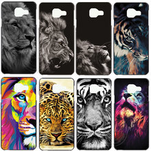 New Fashion Lion Tiger Hard Case Cover For Samsung Galaxy S3 S4 S5 Mini S6 S7 Edge S8 S9 Plus Note 2 3 4 5 8 9 Phone Coque(China)