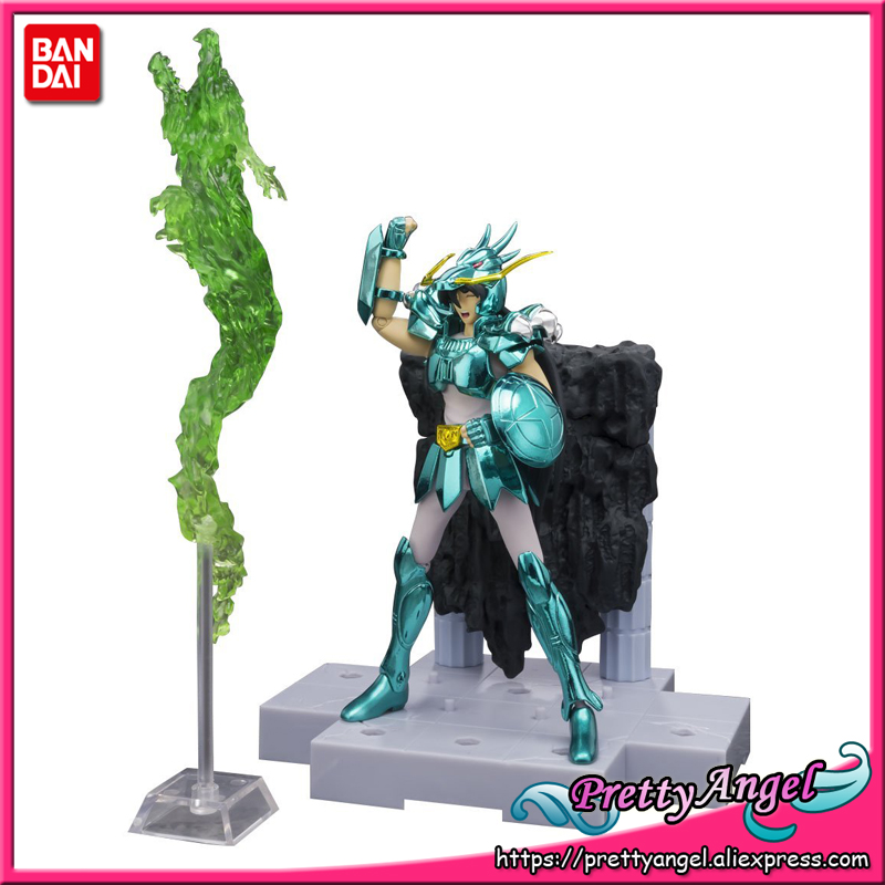 Japan Anime Original Bandai Tamashii Nations D.D.PANORAMATION / DDP Saint Seiya Action Figure - Dragon Shiyu japan anime saint seiya original bandai tamashii nations d d panoramation ddp action figure sagittarius aiolos