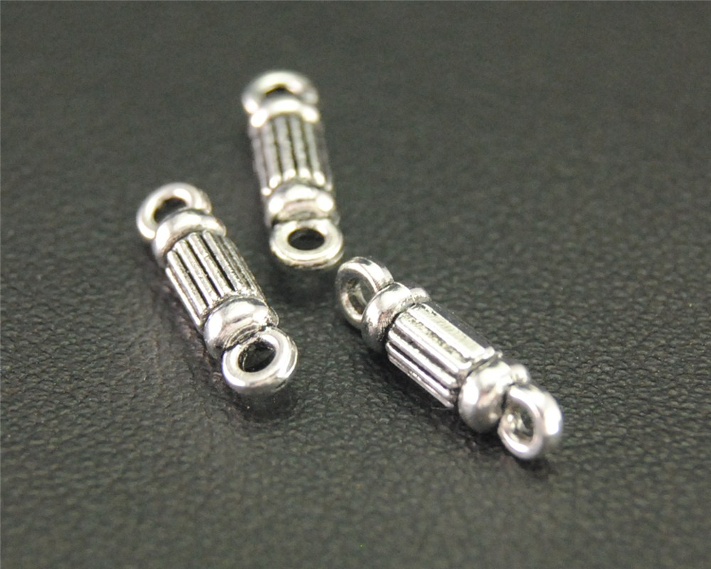 Handmade Charms Connector Pendants Findings Jewelry Antique 14x4mm-A1901 20pcs Linker