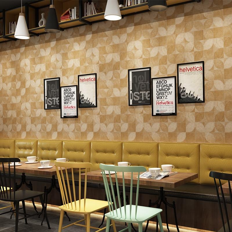 Купить с кэшбэком Modern Simple Magic PVC Waterproof Wallpaper Personality Alternative Decoration Kitchen Restaurant Cafe Bar Wall Paper