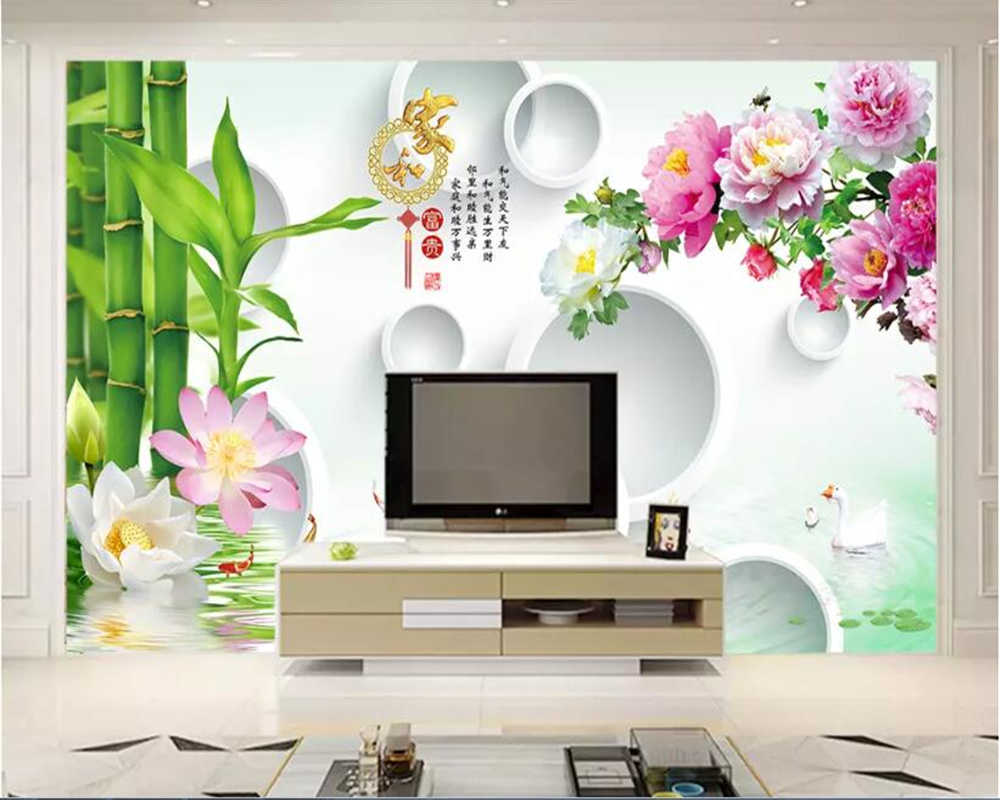 Beibehang Wallpaper Kitchen Sticker Wallpaper Home And Rich Circle