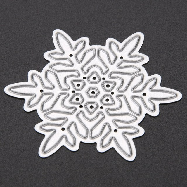 Metal Snowflake Cutting Dies 4 pcs Set