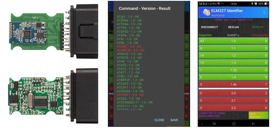 HTB1CsrbacvrK1Rjy0Feq6ATmVXak OBD2 ELM327 V1.5 Bluetooth/WIFI Car Diagnostic Tool ELM 327 OBD Code Reader Chip PIC18F25K80 Work Android/IOS/Windows 12V Car