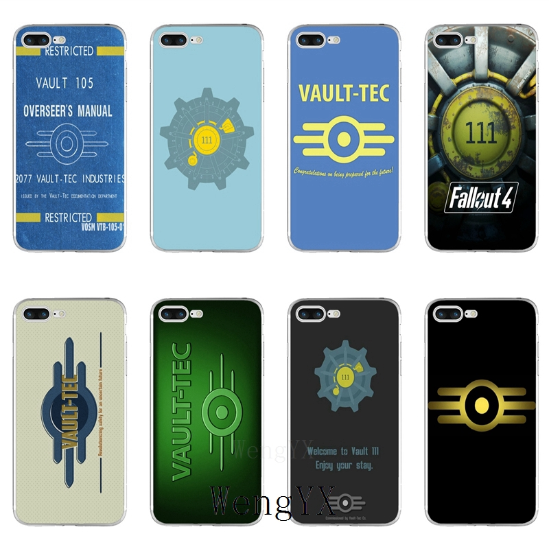 game fallout vault tec 111 Slim silicone TPU Soft phone case For Samsung Galaxy J1 J2 J3 J5 J7 A3 A5 A7 2015 2016 2017 image