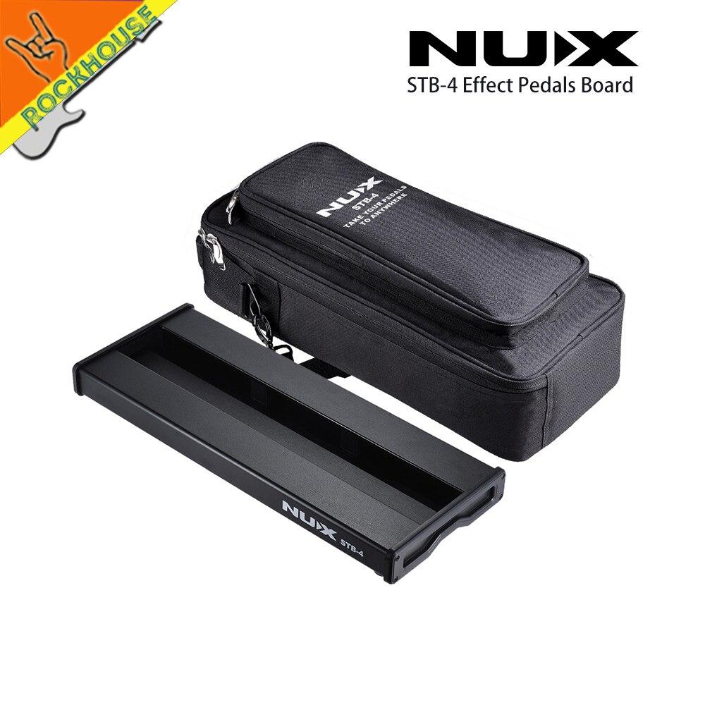 NUX pédale effets de guitare Pedalboard RockBoard pédale train cacher les câbles avec Portable Carring sac 600D oxford matériel