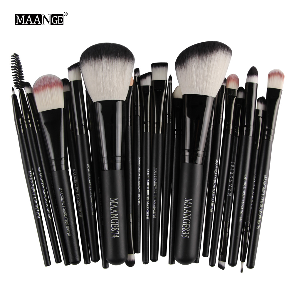 22Pcs Professional Makeup Brushes Set Blush Powder Foundation Eyeshadow Eyeliner Lip Make up Brush Beauty Tools 1
