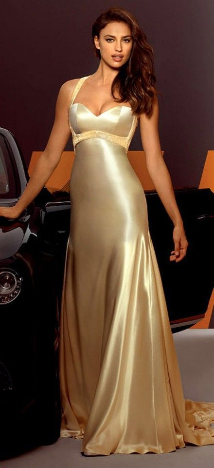 Collection Gold Evening Gown Pictures - Reikian