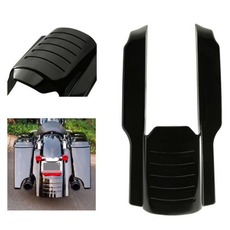 7 Rear Fender Extension Stretched Bag Fillers for 1996 2008 Harley Touring