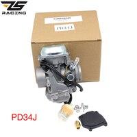 ZS Racing PD34J 34mm Motorcycle carburetor For POLARIS Big Boss 400 Ranger 400 Scrambler 400 Sport 400 Sportsman 400 ATV