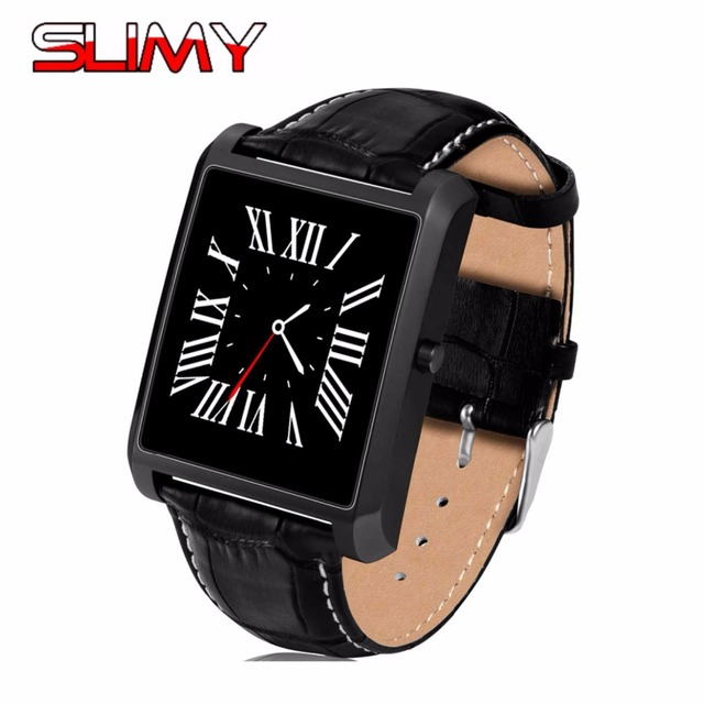 best cheap 01380 42cf6 US $33.88 |Slimy Smart Watch Heart Rate DM08 Plus Bluetooth Wristwatch Call  Remind for IOS iphone 6 6s 5s 4s Android Smart Wear Smartwatch -in Smart ...