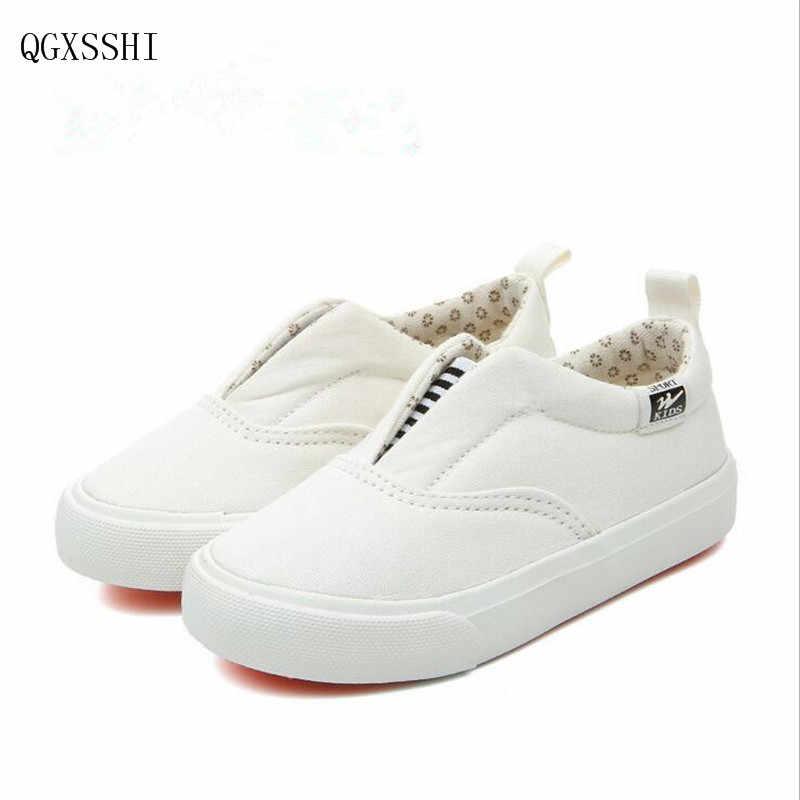 QGXSSHI 2016 nuevas marcas de llegada zapatos para niños y niñas zapatos sencillos y elegantes zapatos de lona para niñas zapatillas para niños