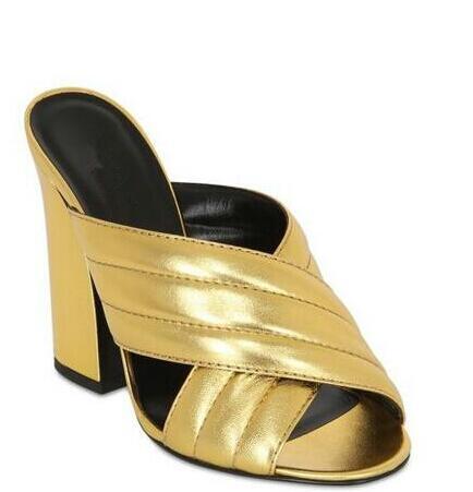 Pic Moda Zapatillas Las Verano Estilo As De Alto Gran Nuevo Pic Tamaño Zapatos Grueso Cuero Tacón as Mujeres Mujer wpFxSdqa