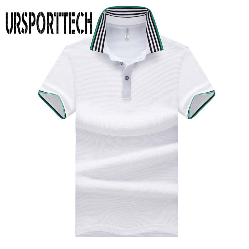 2019 New Arrival Men   Polo   Shirt Casual Short Sleeve Striped Stand Collar   Polo   Shirts Brands Jerseys Summer Mens   Polo   Shirts