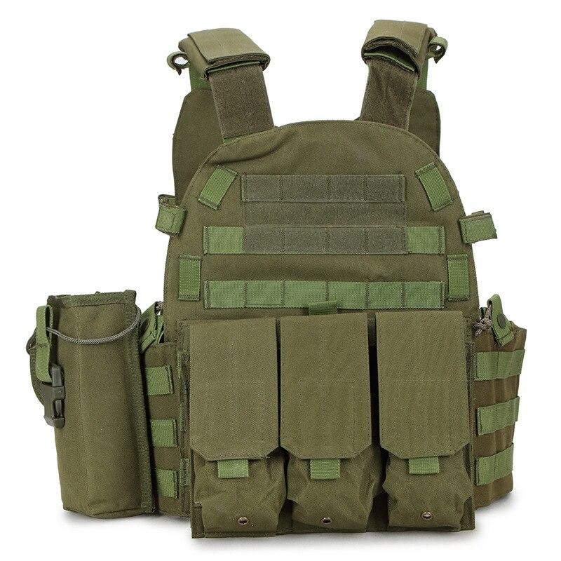 Outdoor Hunting Vests Tactical Vest 1000D Nylon Military Men 6094 Vest Army CS Equipment Accessories