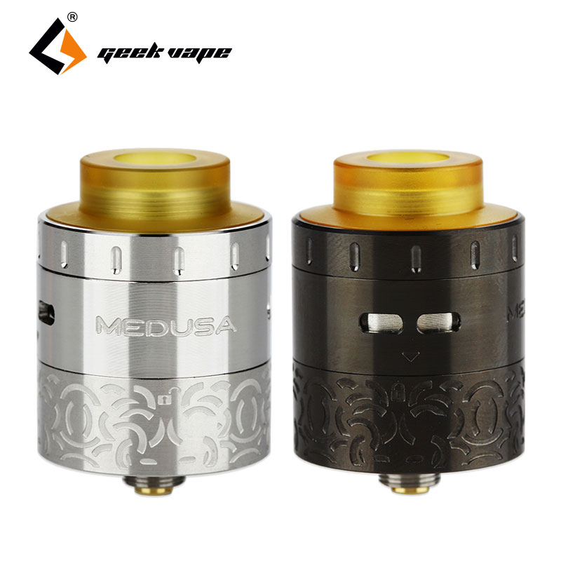 цена Original GeekVape Medusa RDTA 3ml Rebuildable Dripper Atomizer Drip Fill Medusa Tank Electronic Cigarette RDTA and RDA Vaporizer