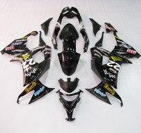 Инжекционный обтекатель антиблокировочной системы комплект кузов для Kawasaki Ninja ZX10R 08 10 09 2008 2010