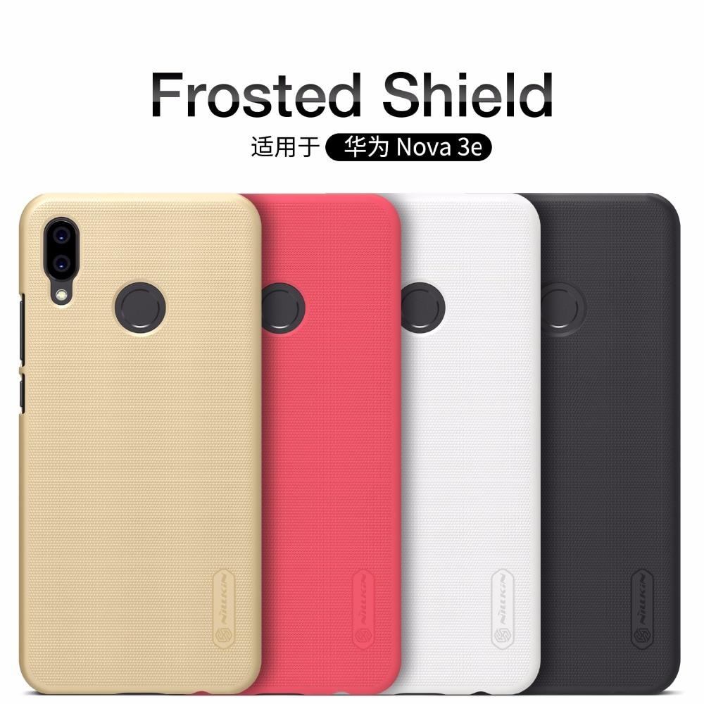 Huawei p10 lite cas Huawei p20 lite housse NILLKIN givré Bouclier fundas retour capas avec p20 lite livraison Écran protecteur