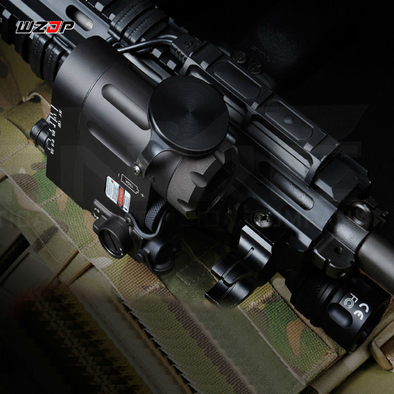 Black New Flashlight Dual Beam Pistol Light Laser // IR Laser //LED// IR LED