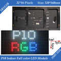 Wholesale 20pcs/lot P10 Indoor 1/8 Scan SMD3528 3in1 RGB Full color LED display Screen module 320*160mm 32*16pixels