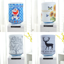 Dustproof Printed Cartoon Cloth Art Drinking Fountains Barrels Water Dispenser Dust Cover Household Merchandises Protector