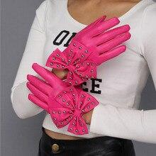 Gloves Girl Female Stretch Knit Gloves Mittens