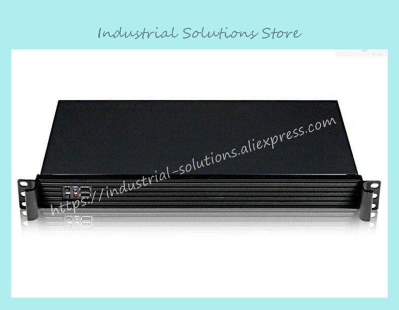 все цены на NEW Mini itx 17 ultra-short 1U computer case 1u server firewall computer case онлайн