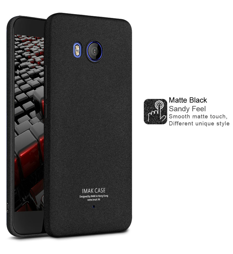 Image 3 - IMAK sFor HTC U11 Case Cover Shockproof Series Soft TPU Back Cover Case For HTC U11 Cover 5.5 inch-in Fitted Cases from Cellphones & Telecommunications