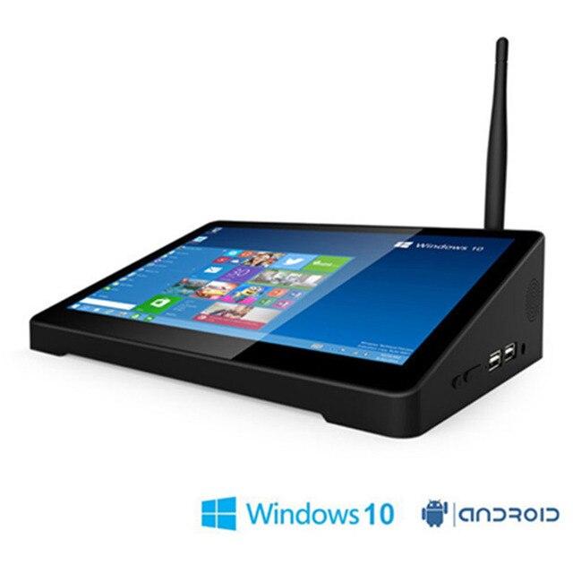 "Оригинальный pipo X9S 2 ГБ + 32 Гб 4 ядра мини-приставка для телевизора коробка Dual ОС Windows 10 и Android 4,4 Intel Z8350 8,9 ""планшет в наличии"