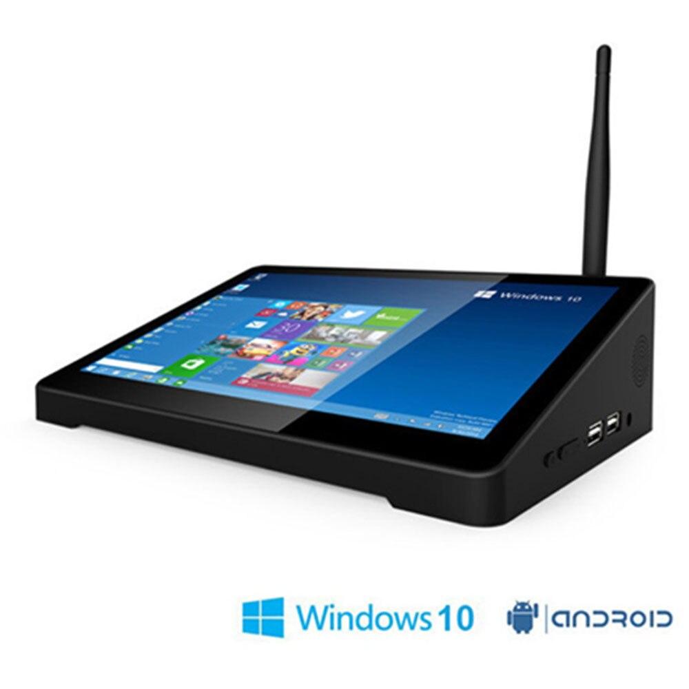 Оригинальный pipo X9S 2 ГБ + 32 Гб 4 ядра мини приставка для телевизора коробка Dual ОС Windows 10 и Android 4,4 Intel Z8350 8,9 планшет в наличии