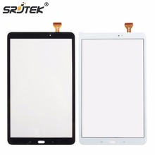Srjtek 10 unids/lote Para Samsung Galaxy Tab 10.1 T580 T585 SM-T580 SM-T585 Panel de Pantalla Táctil Digitalizador Del Sensor de Reemplazo de la Tableta
