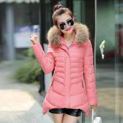 New Arrival Fashion Elegant Winter Fur Hooded Collar Slim Plus Size Mid-Long Wadded Cotton Padded Outwear Femal Women Coat H5783 hot new 2014 winter clothing women fashion fur collar hooded lace patchwork elegant slim plus size zipper long down coat wj1883