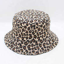 LDSLYJR, леопардовая шляпа-ведро, Рыбацкая шляпа, уличная шляпа для путешествий, Кепка от солнца для мужчин и женщин, 280