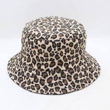 LDSLYJR 2018 leopardo cubo pescador sombrero al aire libre del casquillo  del sombrero del sol sombreros para hombres y mujeres 2. 424ac47eeea