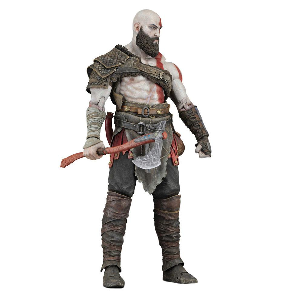 LeadingStar God of War Ghost of Sparta Kratos PVC Collectible Action Figure Model Toy ZK30 100% new big size god of war statue kratos gk action figure collection model toy 45cm resin wu691