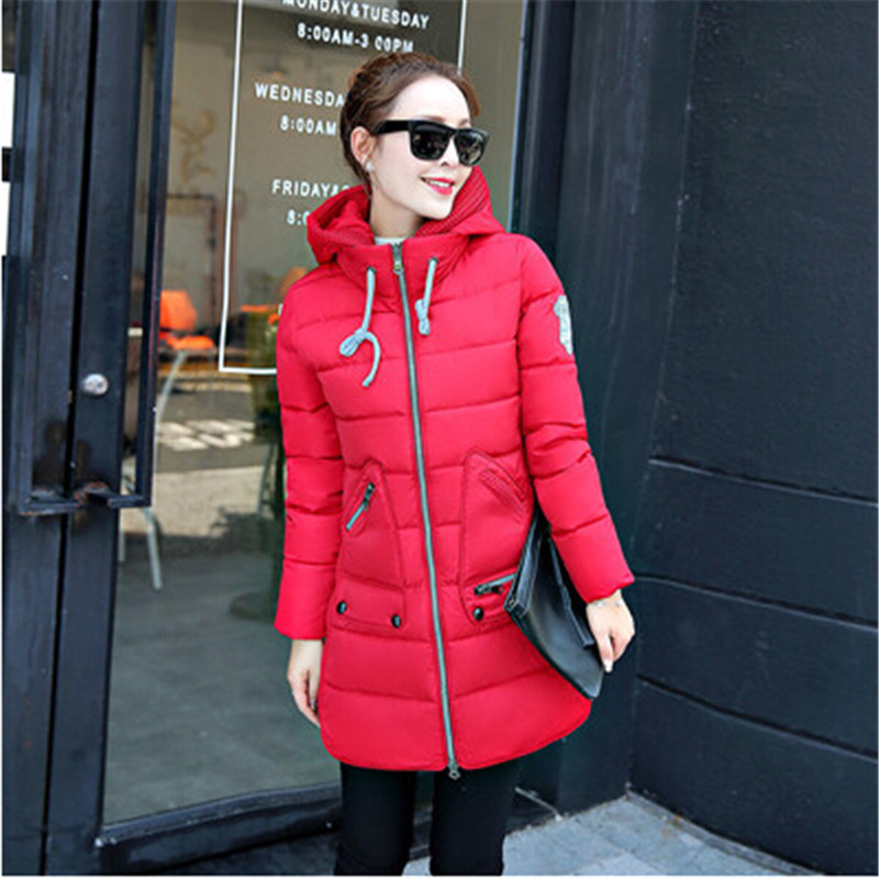 MQUEENFOX Plus Size Women Winter Coat Jaqueta Feminina Chaquetas Winter Jacket Hooded Parka Mujer Casacos De Inverno Feminino