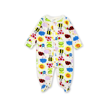 Newborn Baby Clothes New born babies Cotton Cartoon printing Infant Clothing 1pcs 0-12 months newborn baby girl clothes footies lucky child cotton cartoon printing infant clothing 1pcs 0 12 months