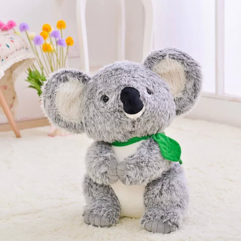 22cm Plush toy koala stuffed and soft animal toys cute Australian simulation koala doll best gift for children kid free shipping fancytrader new pop animal koala plush toy big stuffed plush koala doll 50cm best gift for children