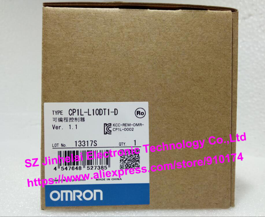100% New and original  CP1L-L10DT1-D  OMRON PLC CONTROLLER [zob] 100% new original omron omron proximity switch e2e x10d1 n 2m