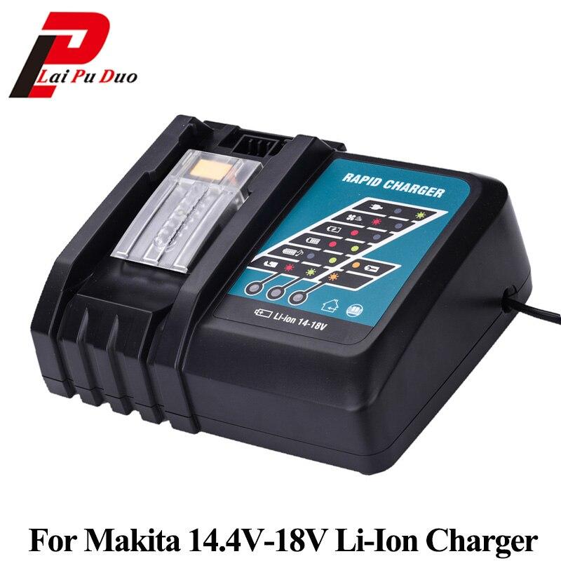 batterie et chargeur pour Makita 3.0 Ah 18V LXT Li-Ion BL1830 DC18RA DC1414 neuf