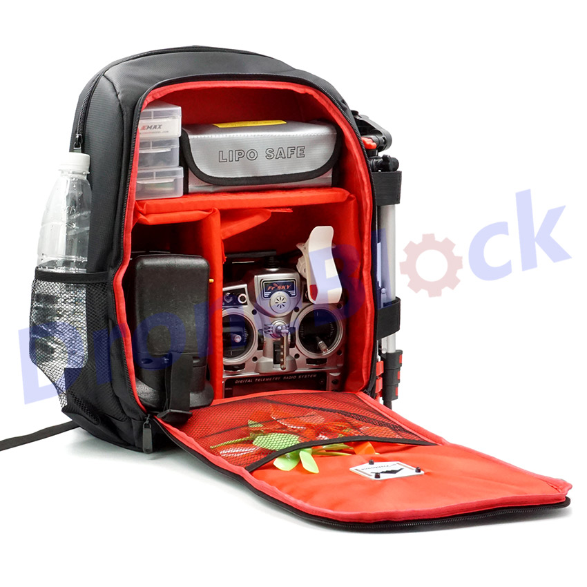 Image 3 - FPV Racing Drone Quadcopter Backpack Carry Bag Outdoor Tool for Multirotor RC Fixed Wing Spark Comparable with Betaflight-in Parts & Accessories from Toys & Hobbies