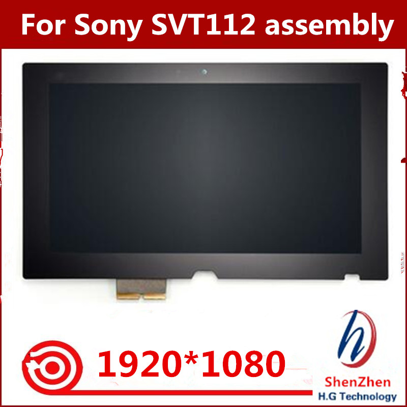 Gread A+ Assembly LCD + Touch Screen Digitizer For Sony SVT112 VAIO Tap 11 SVT112A2WL LCD VVX11F019 screen1920*1080 планшет sony vaio tap 11 на windows 8 core i5