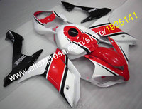 Hot Sales,Red white black fairing For Yamaha YZF R1 2007 2008 YZF R1 07 08 YZF1000 motorcycle bodywork kit (Injection molding)