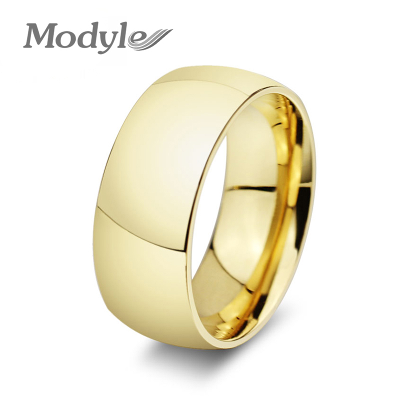 modyle fashion gold color wedding engagement rings for women and men jewelrychina - Wedding Rings Prices