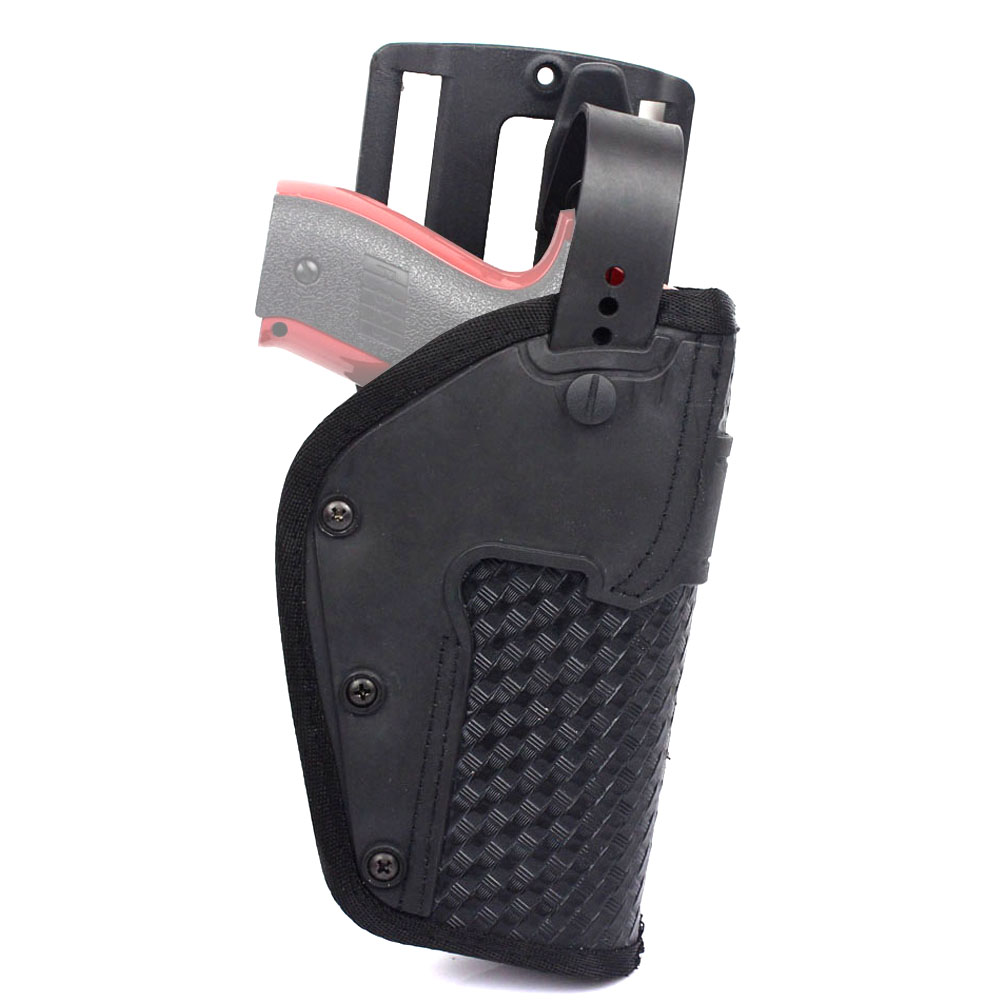 Radient Rocotactical Basketweave Universal Gun Holster Right Hand, Fits All Medium/large Handguns, Tactical Belt Pistol Holster