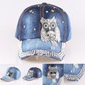 2015 New arrive Hot sale snapback caps Unisex casquette hats for men and women The cowboy hat With owl Adjustable Outdoor sport