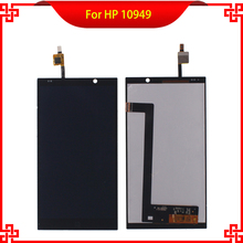 """5PC/Lot 6"""" LCD Display Touch Screen Digitizer Assembly For HP 10949 HP Slate 6 100% Tested Mobile Phone LCDs Free Tools"""