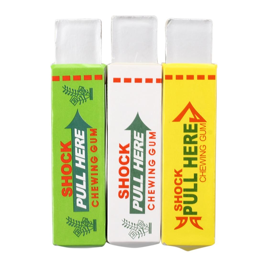 FBIL-3X Security novelty electric shock chewing gum Gag Trick Joke Joke Prank