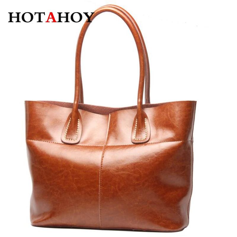 Fashion Women Split Leather Shoulder Bags Oil Wax Cowhide Ladies Large Capacity Shopping Bags Female simple High Quality Bolsas рога zoom mt 68a