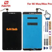 Продажа Для Сяо mi Max ЖК-дисплей Дисплей + Сенсорный экран 100% новая сборка дигитайзер замена аксессуары для сяо mi Max pro премьер