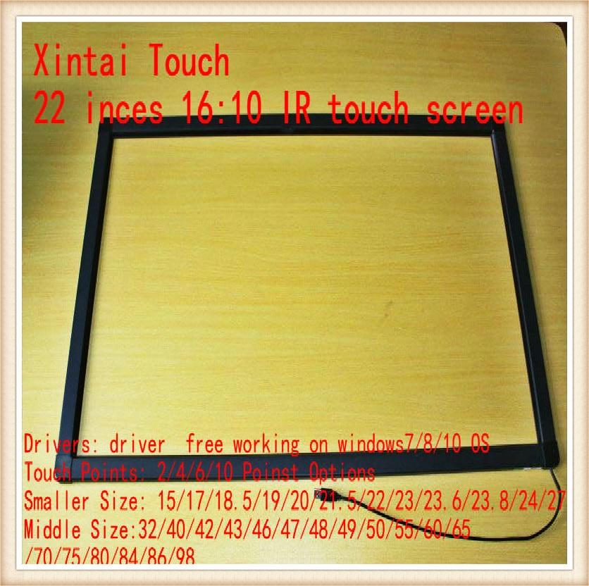 22-palčni 2-točkovni IR zaslon na dotik / IR zaslon na dotik za mizo na dotik, kiosk itd